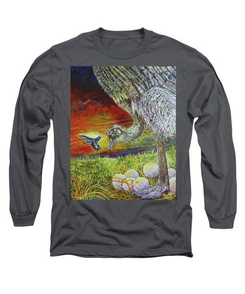 The Nanny Long Sleeve T-Shirt by David Joyner