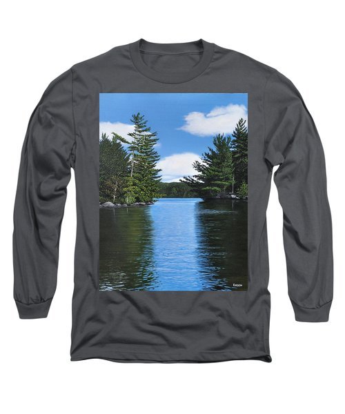 The Narrows Of Muskoka Long Sleeve T-Shirt