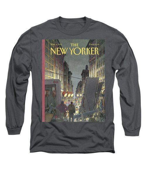 The New Yorker Cover - March 8th, 1993 Long Sleeve T-Shirt