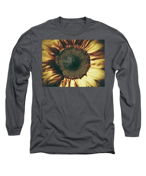 The Not So Sunny Sunflower Long Sleeve T-Shirt