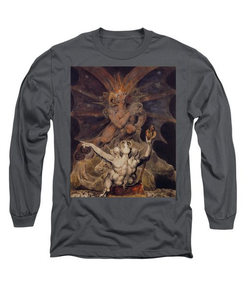 The Number Of The Beast Is 666 Long Sleeve T-Shirt