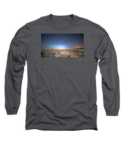 The Ocean Desert Long Sleeve T-Shirt by Robert Och