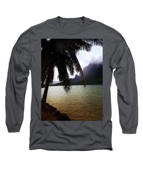 The Ocean In Moorea Long Sleeve T-Shirt