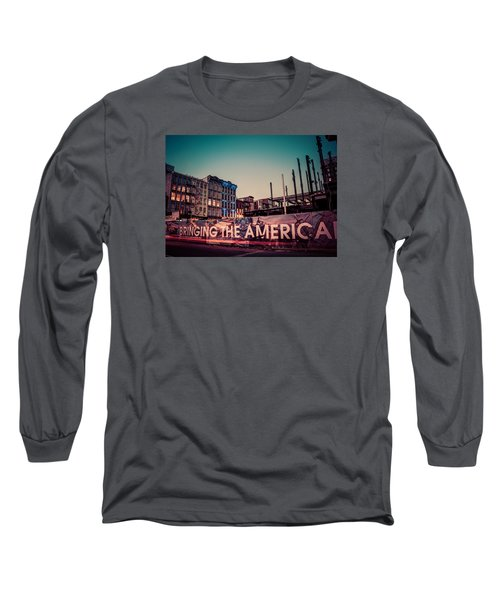 Long Sleeve T-Shirt featuring the photograph The Old And The New by Mark Dodd