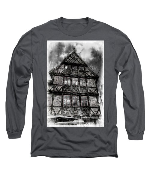 The Old Danish Buiding Long Sleeve T-Shirt