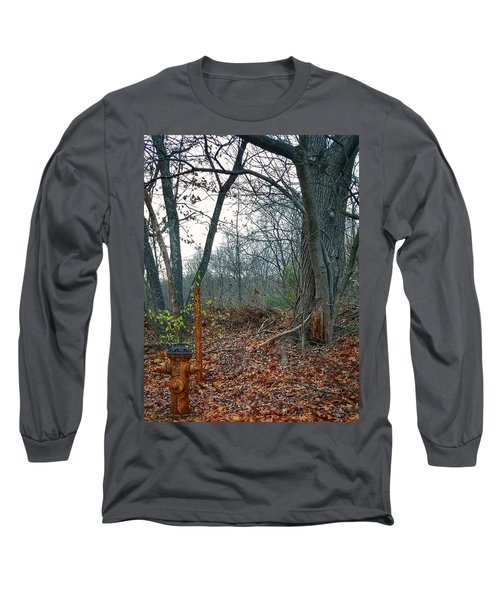 The Old Fire Hydrant Long Sleeve T-Shirt