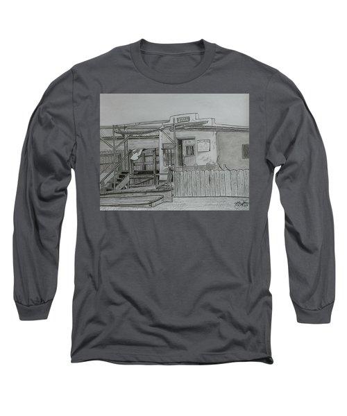The Old  Jail  Long Sleeve T-Shirt by Tony Clark