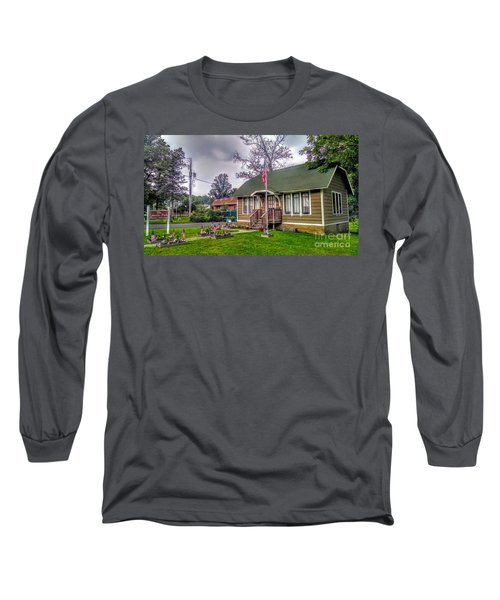 The Old Library At Beavertown Long Sleeve T-Shirt