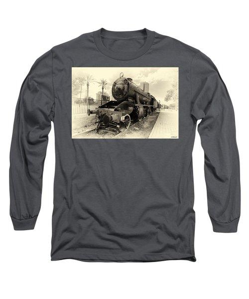 The Old Locomotive Long Sleeve T-Shirt