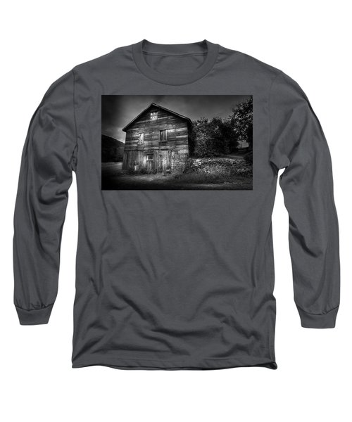 Long Sleeve T-Shirt featuring the photograph The Old Place by Marvin Spates