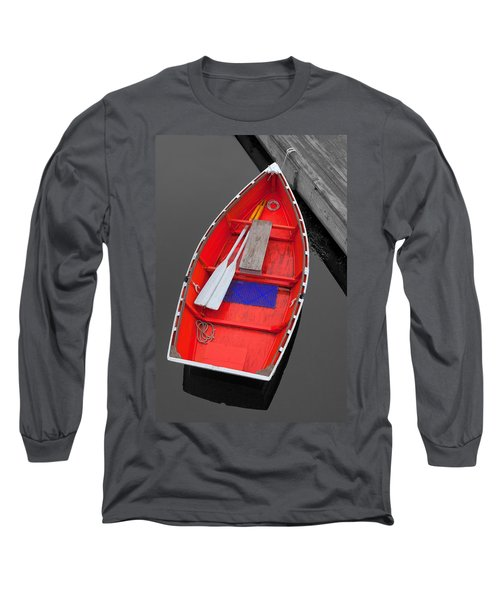 The Old Red Lobster Boat  Long Sleeve T-Shirt