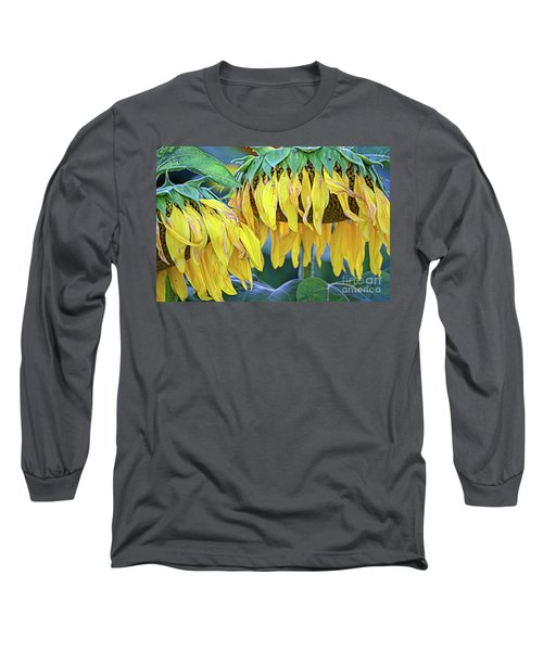 The Old Sunflowers Long Sleeve T-Shirt