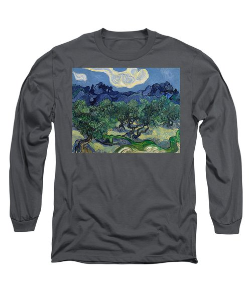 The Olive Trees Long Sleeve T-Shirt
