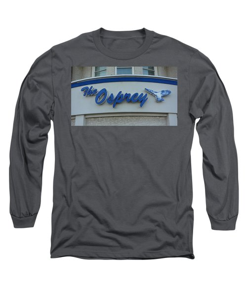 The Osprey Marqee Long Sleeve T-Shirt by Melinda Saminski