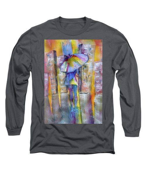 The Other Girl In The City Long Sleeve T-Shirt