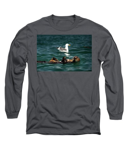 The Otter And The Mooch 3 Long Sleeve T-Shirt