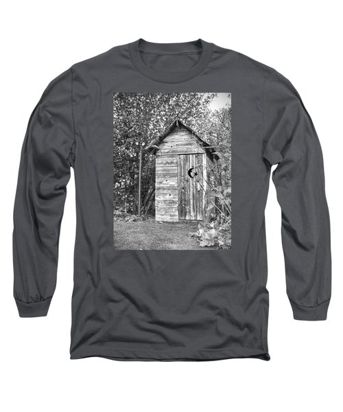 The Outhouse Bw Long Sleeve T-Shirt