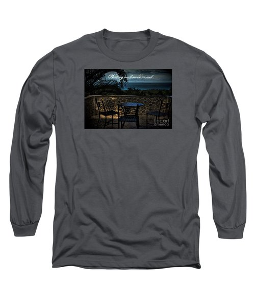 Long Sleeve T-Shirt featuring the photograph Pain That Last Forever by Pamela Blizzard