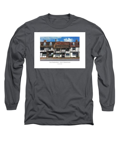 The Paper Boy - East Grinstead Long Sleeve T-Shirt