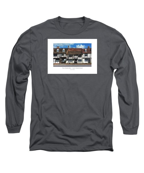 The Paper Boy - East Grinstead Long Sleeve T-Shirt