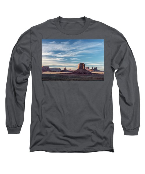 Long Sleeve T-Shirt featuring the photograph The Past by Jon Glaser