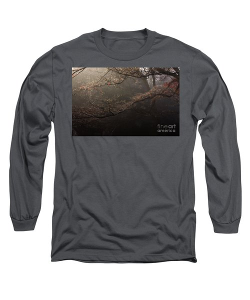 The Peaceful Mind Of All Wonderful People Long Sleeve T-Shirt by Steven Macanka