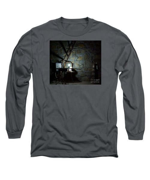 The Perfect Place For Music Long Sleeve T-Shirt by AmaS Art