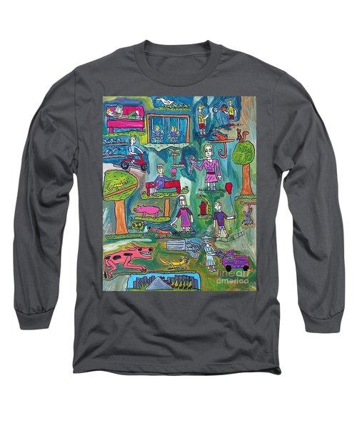 The Playground Long Sleeve T-Shirt by Brandon Drucker