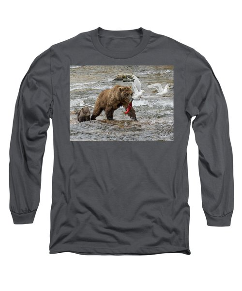 The Plight Of The Sockeye Long Sleeve T-Shirt