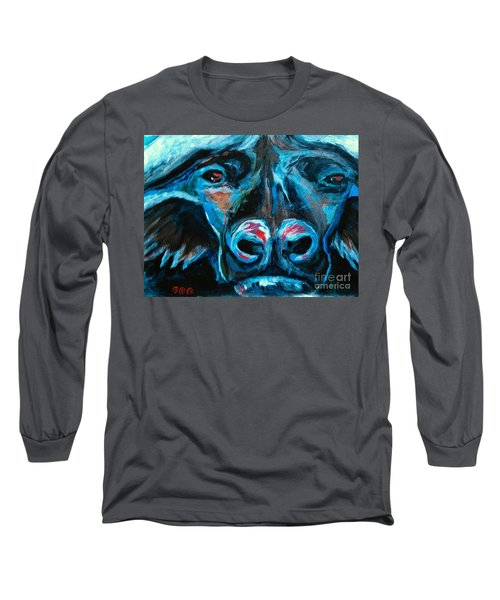 The Poaching Stops Now Long Sleeve T-Shirt by George I Perez
