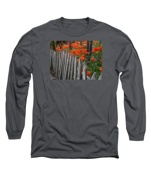 The Poppy Fence Long Sleeve T-Shirt