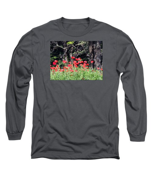 The Poppy Garden Long Sleeve T-Shirt