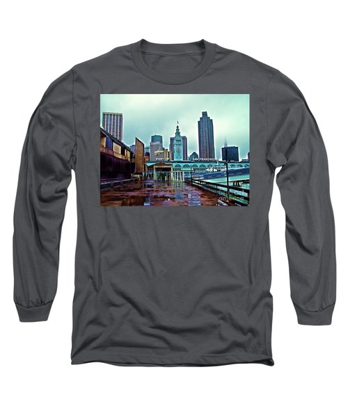 The Port Of San Francisco Long Sleeve T-Shirt