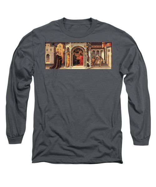 The Presentation In The Temple Long Sleeve T-Shirt by MotionAge Designs