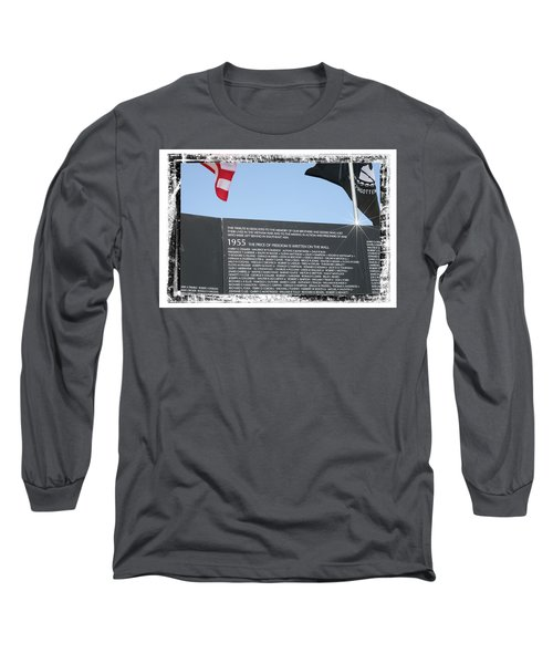 The Price Of Freedom Long Sleeve T-Shirt
