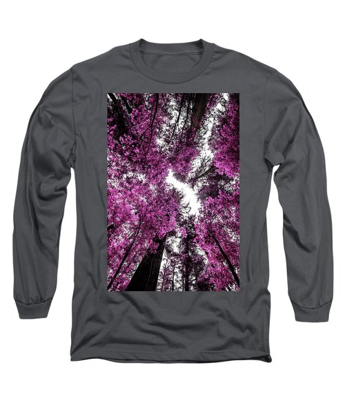 The Purple Forest Long Sleeve T-Shirt