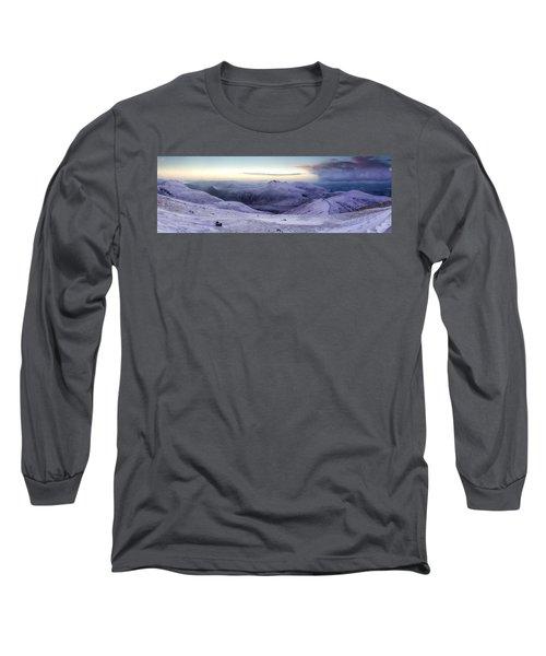 The Purple Headed Mountains Long Sleeve T-Shirt