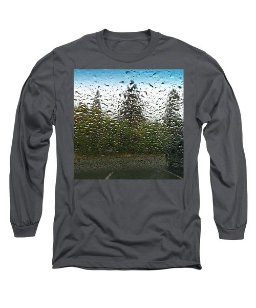 The Rain Was So Nice Today And I Got A Long Sleeve T-Shirt