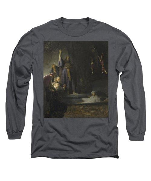 The Raising Of Lazarus Long Sleeve T-Shirt