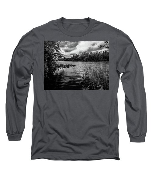 The Rancocas River Landscape Long Sleeve T-Shirt