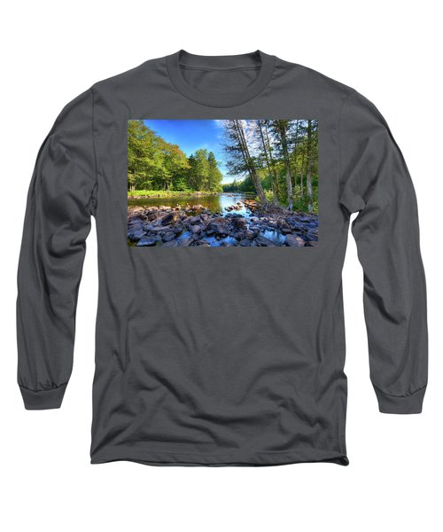 The Raquette River Long Sleeve T-Shirt by David Patterson