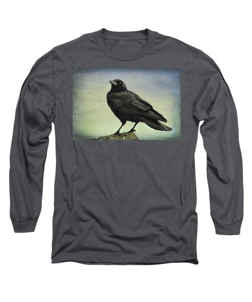 The Raven - 365-9 Long Sleeve T-Shirt by Inge Riis McDonald
