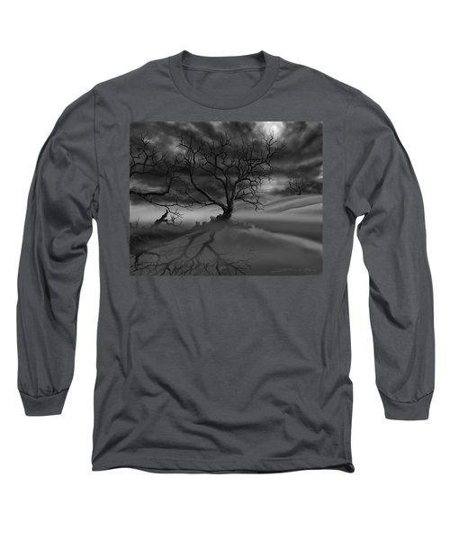 The Raven's Night Long Sleeve T-Shirt by James Christopher Hill