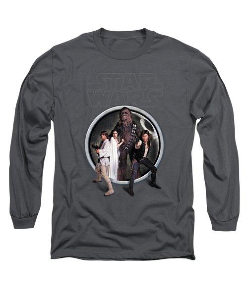 The Rebels Long Sleeve T-Shirt by Edward Draganski