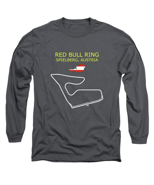 The Red Bull Ring Circuit Long Sleeve T-Shirt