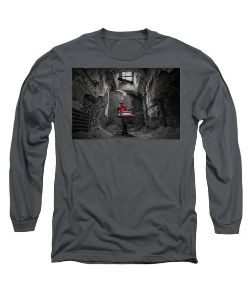 The Red Chair Long Sleeve T-Shirt