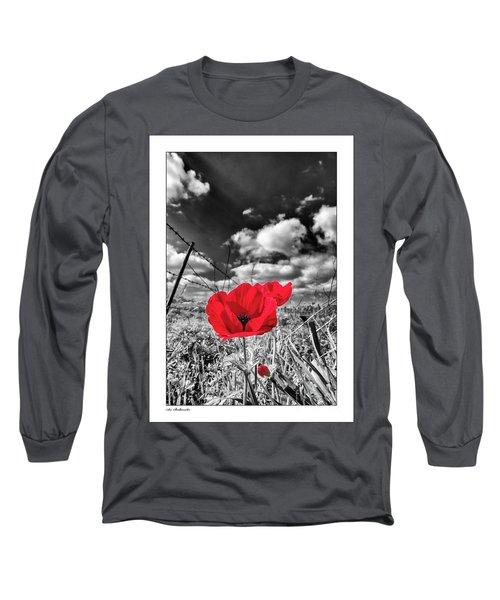 The Red Spot Long Sleeve T-Shirt