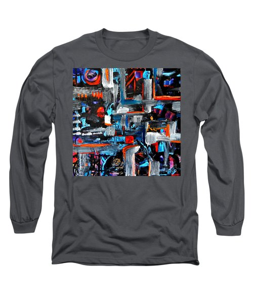 The Reprieve Long Sleeve T-Shirt by Expressionistart studio Priscilla Batzell