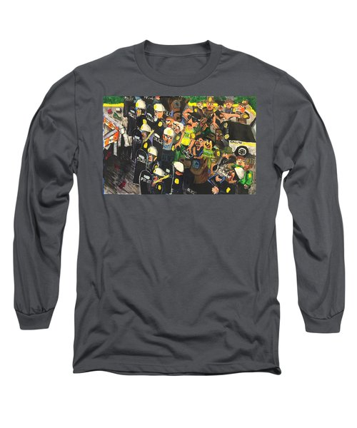 The Response  Long Sleeve T-Shirt by Jame Hayes