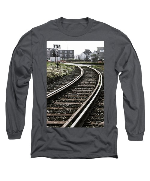 The Right Track? Long Sleeve T-Shirt